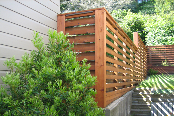 Modern Fence in San Francisco